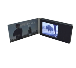 Business card size video brochure video in brochures 90x50mm size video brochure colourmoves